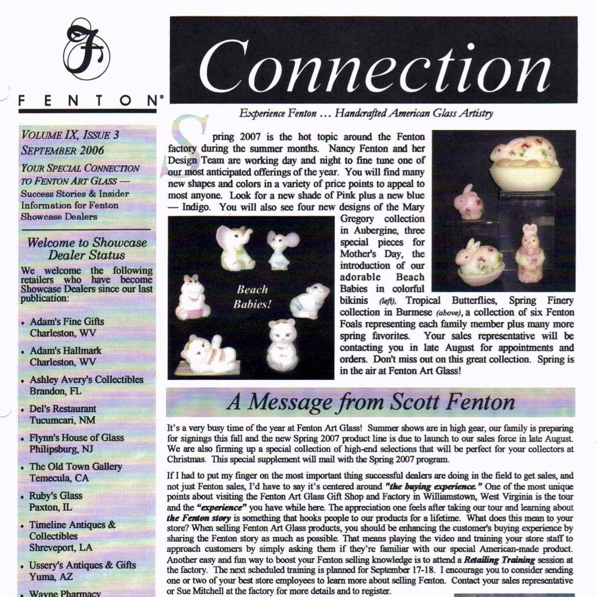 2006 Sept Fenton Connection