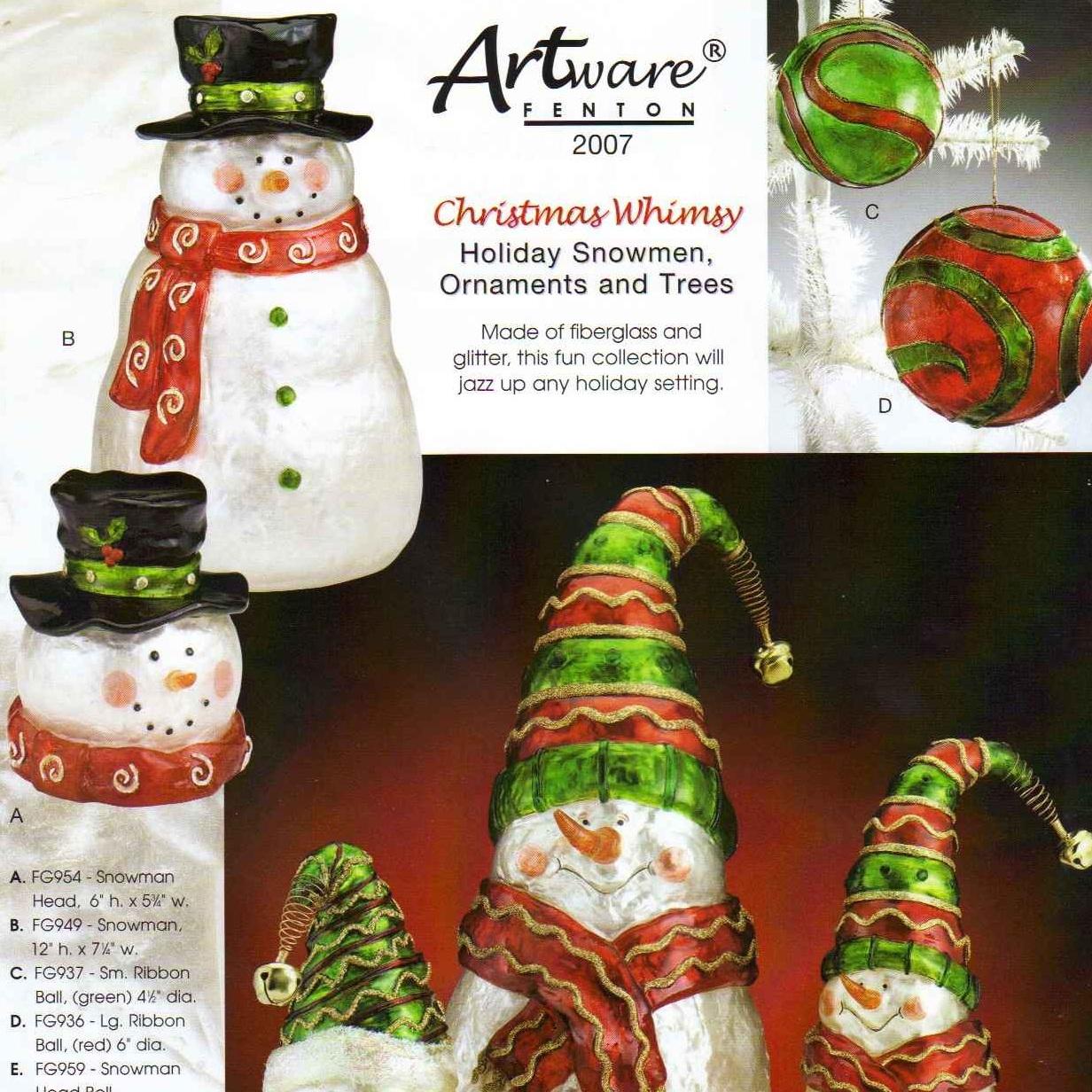 2007 Artware Christmas