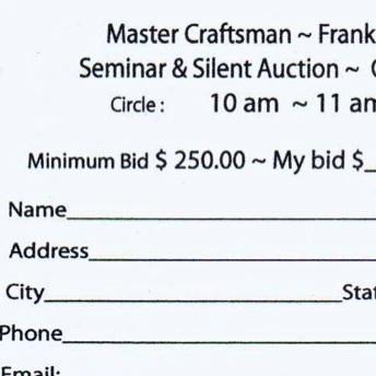 2008 Master Craftsman Event