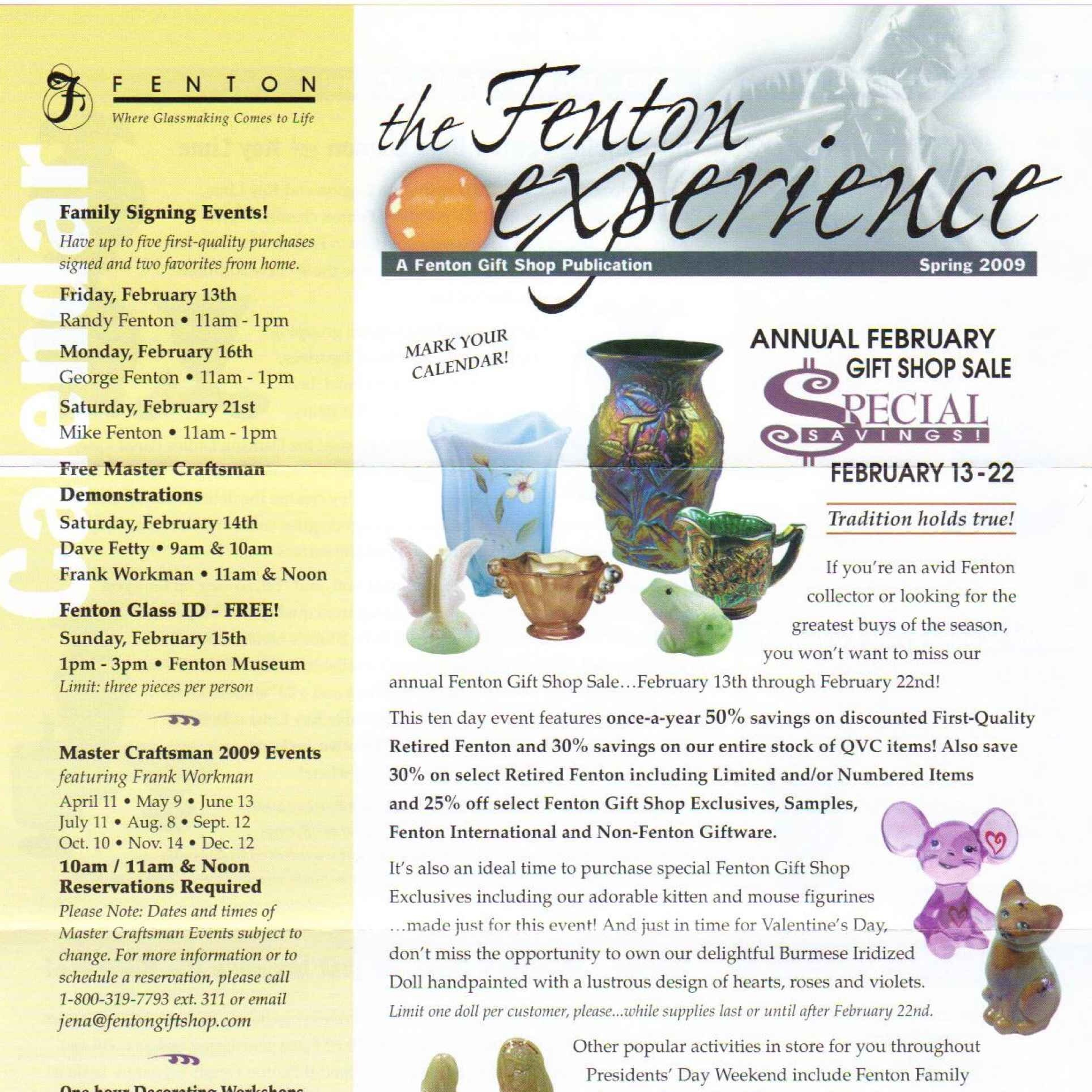2009 Spring Mailer