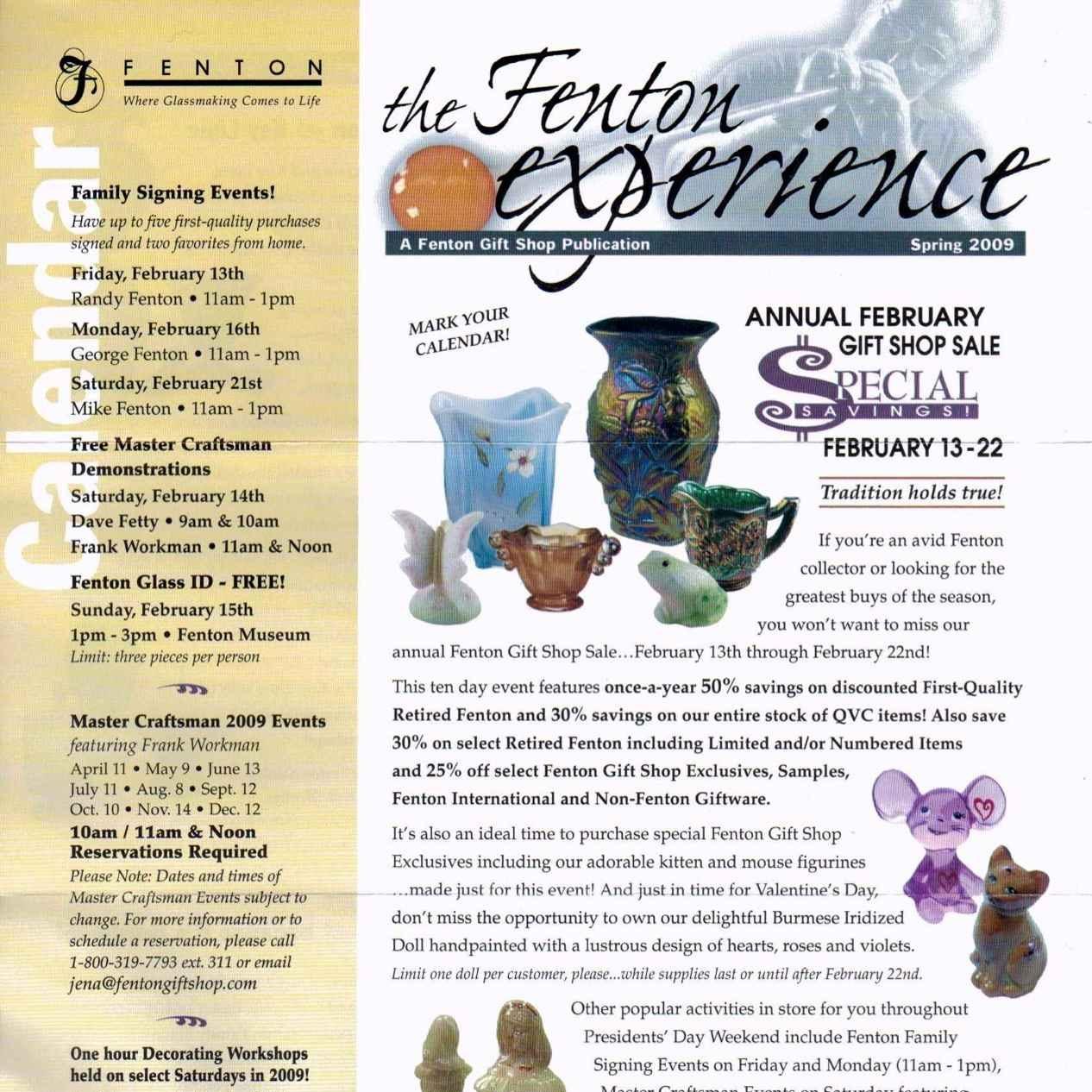 2009 The Fenton Experience