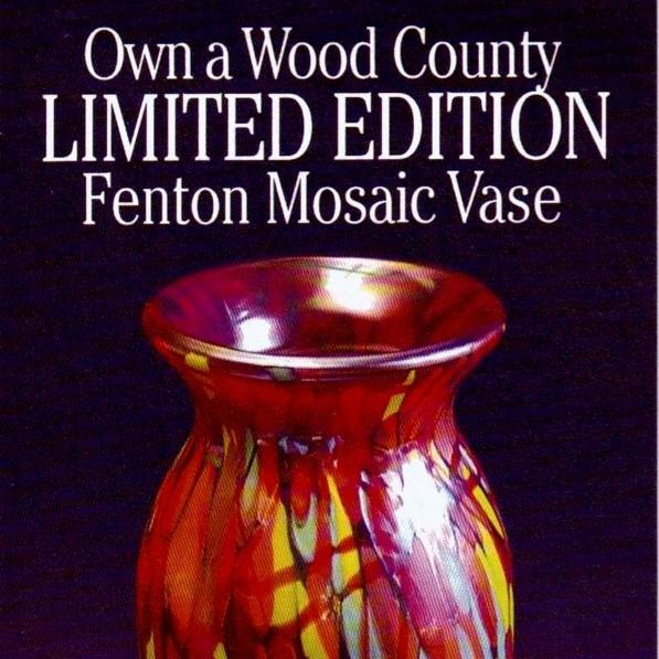 2009 Wood Cty Mosaic Vase