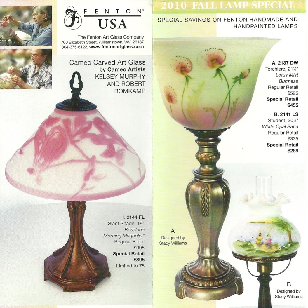 2010 Fall Lamp Special