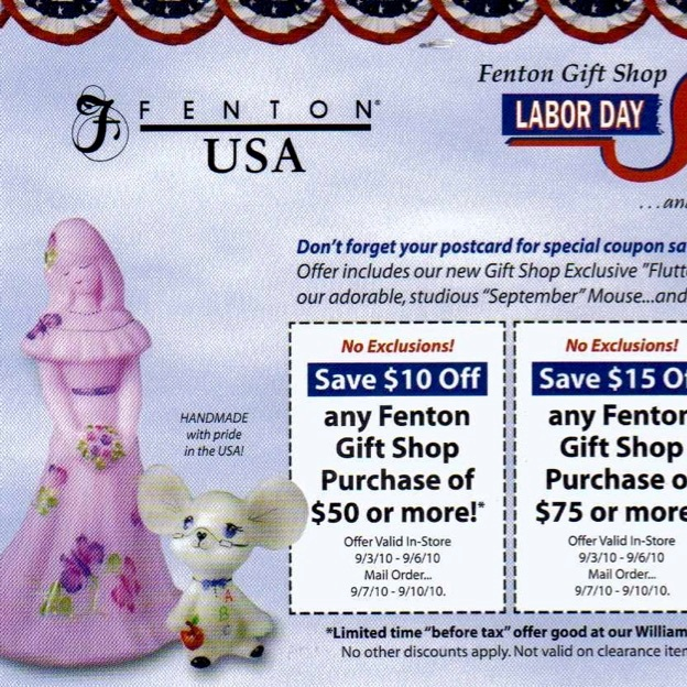 2010 Labor Day Event Post Card