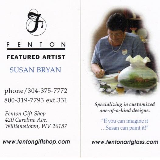 2010 Susan Bryan Featured Artist