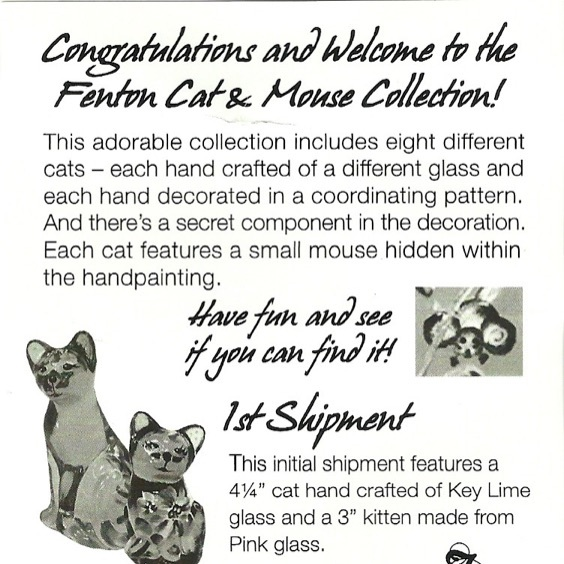 2011 QVC Cat and Mouse Collection