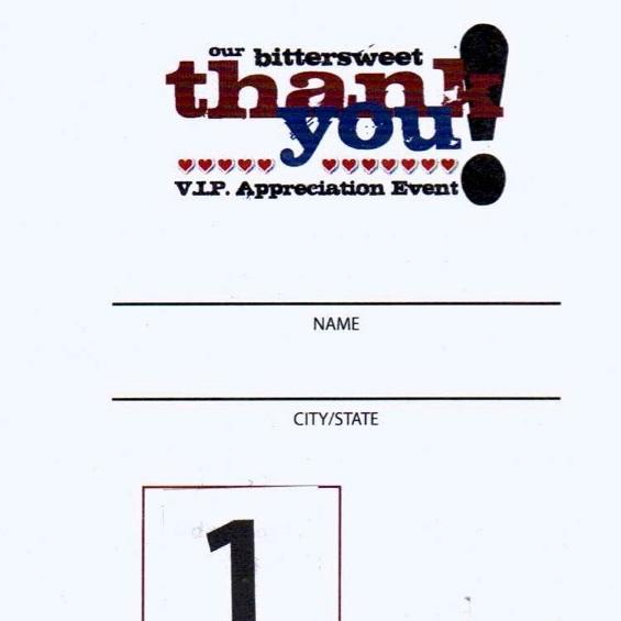 2011 VIP Neck Tag