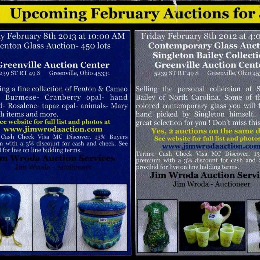 2013 Feb Wroda Auction