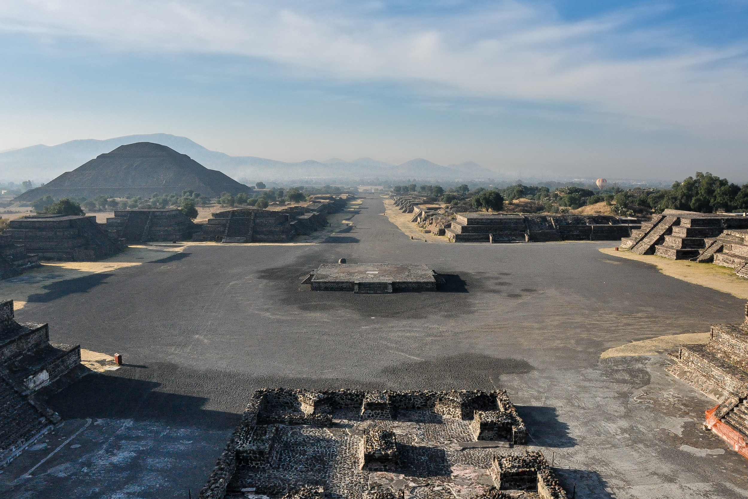 Avenue of the Dead - Teotihuacan (Mexico)