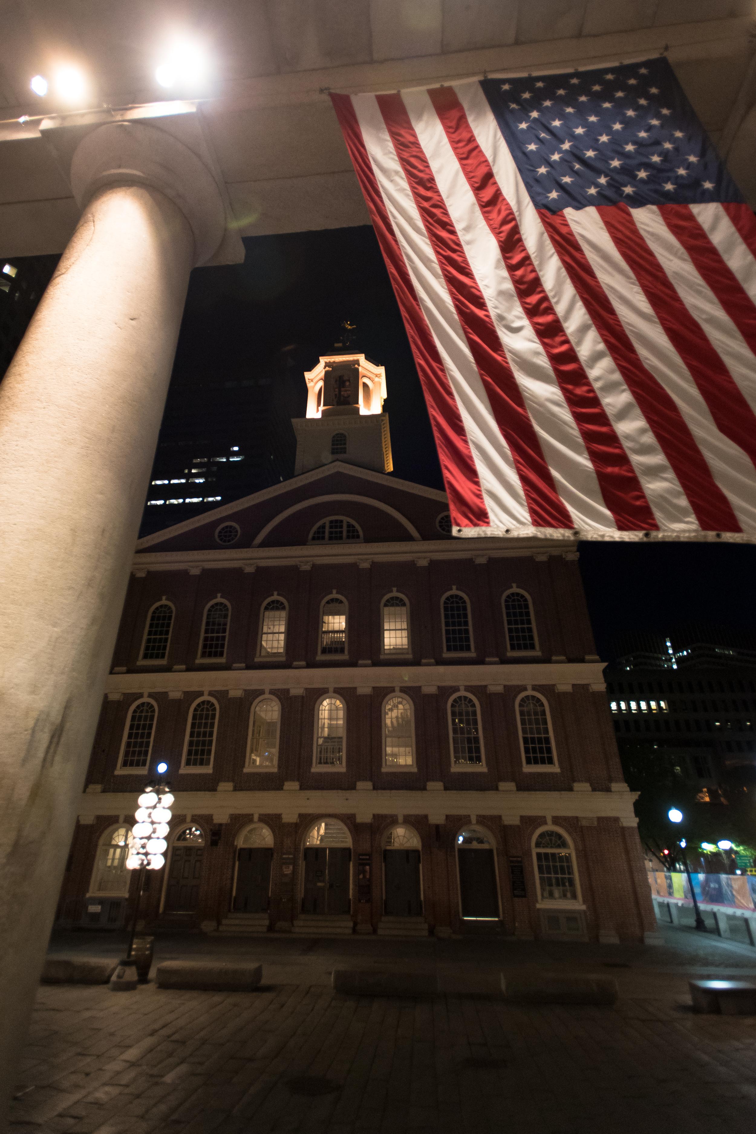 Patriots - Faneuil Hall (Boston, USA)