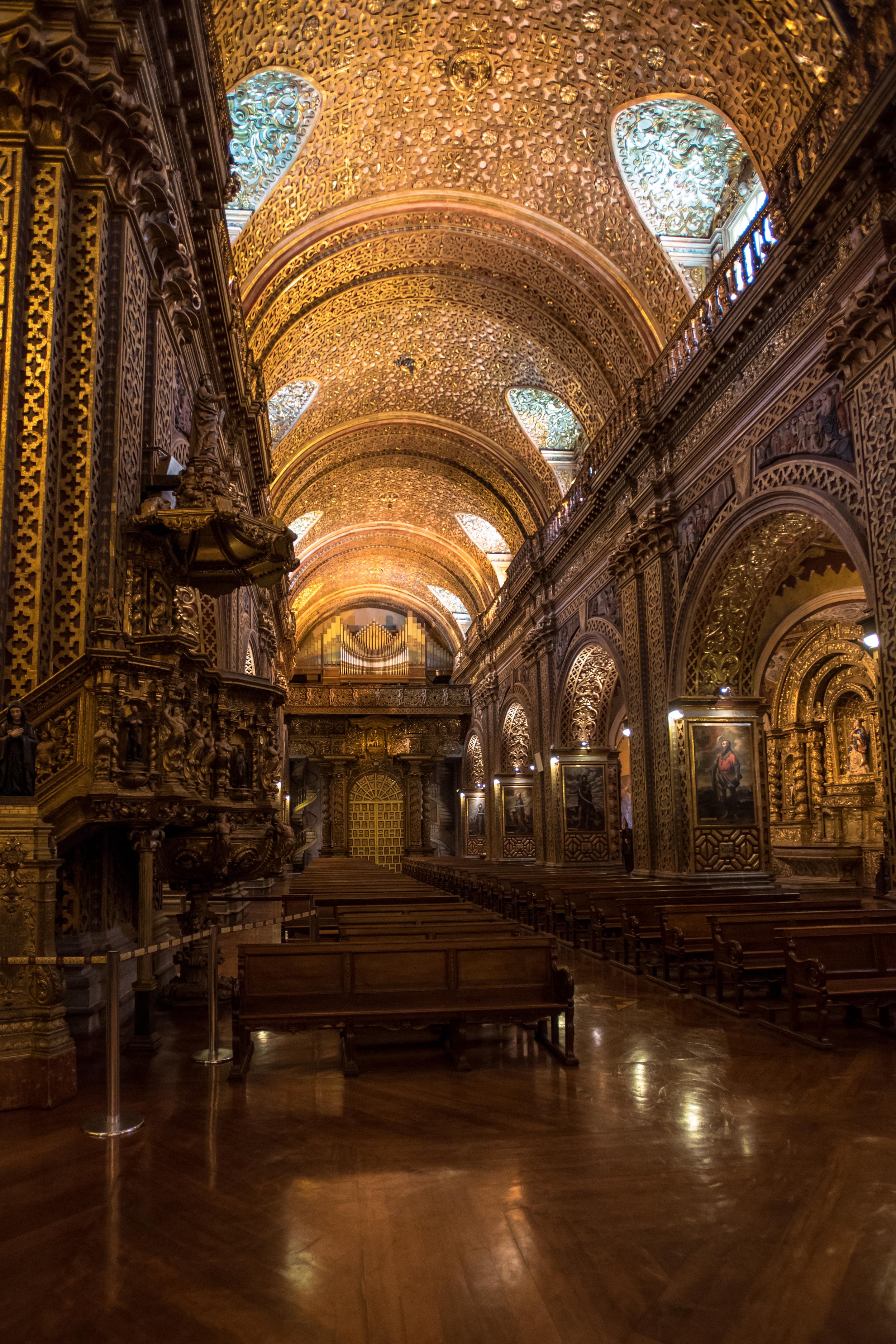 Church of Gold - Compania de Jesus (Quito, Ecuador)