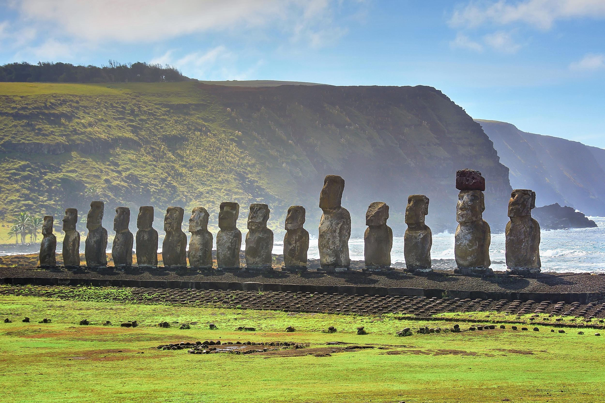 Mystical Moai - Ahu Tongariki (Easter Island, Chile)