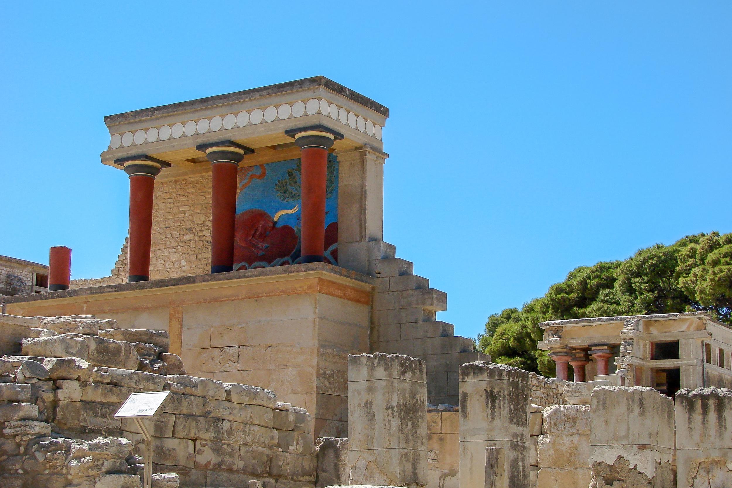 City of the Minotaur - Knossos (Crete, Greece)