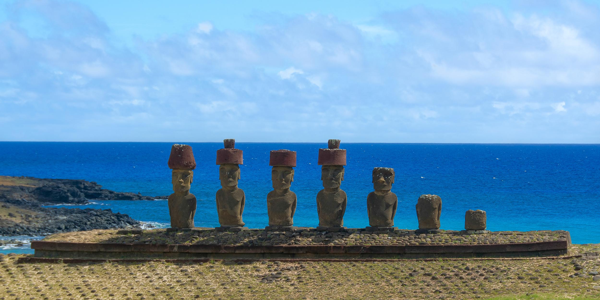 Anakena Beach - Easter Island, Chile