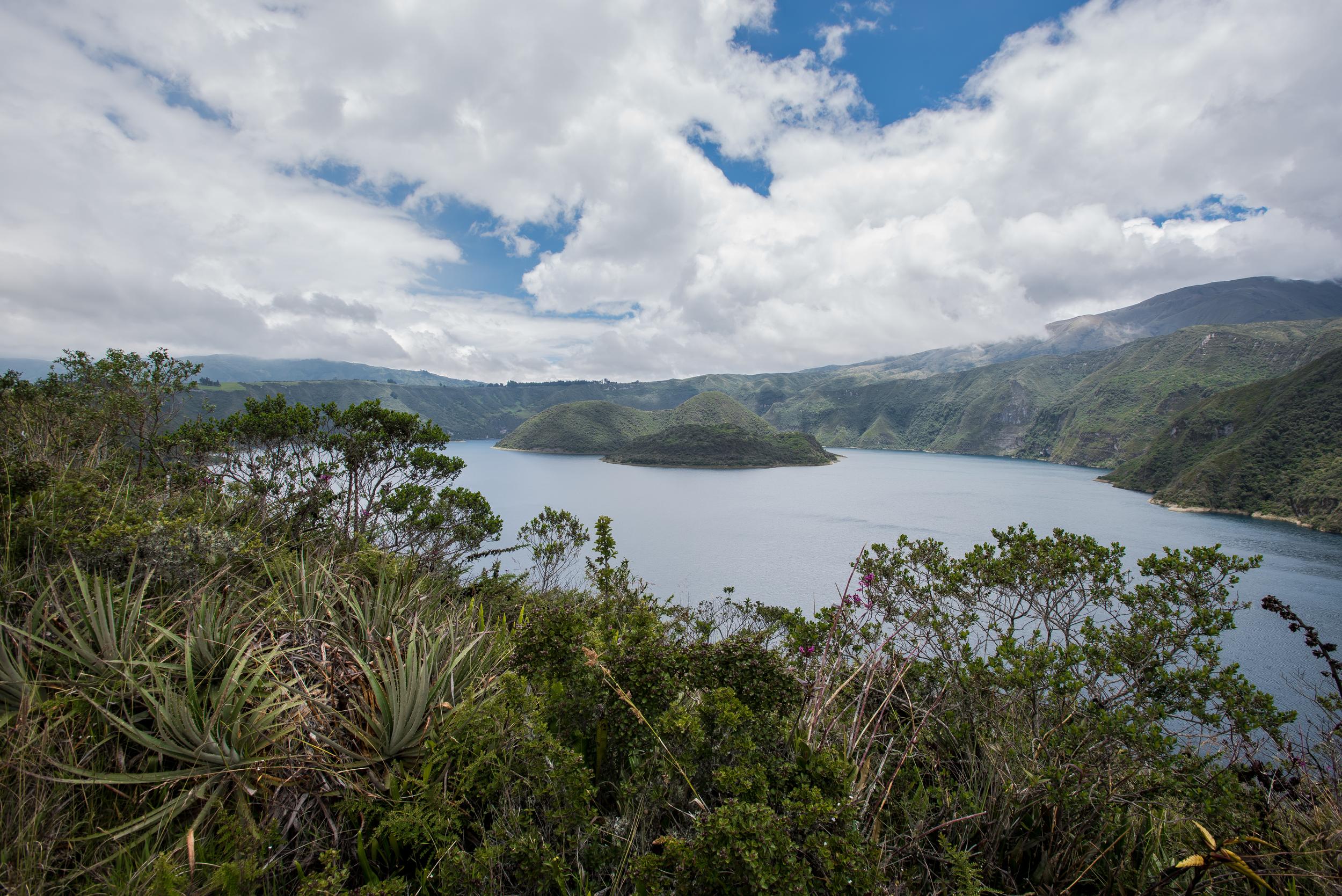 Crater Lake - Cuicocha (Otalavo, Ecuador)