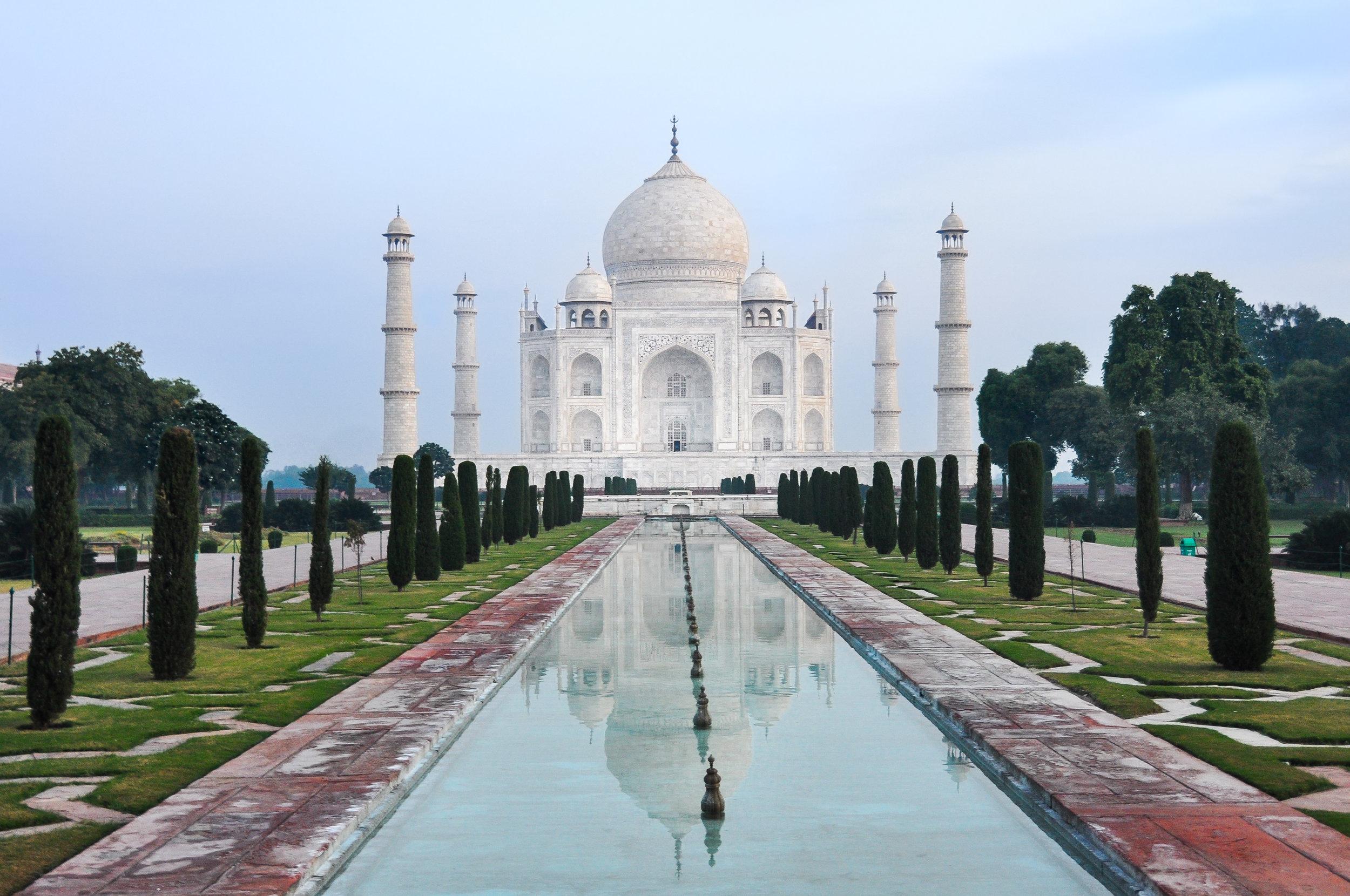 Taj Reflections - Taj Mahal (India)