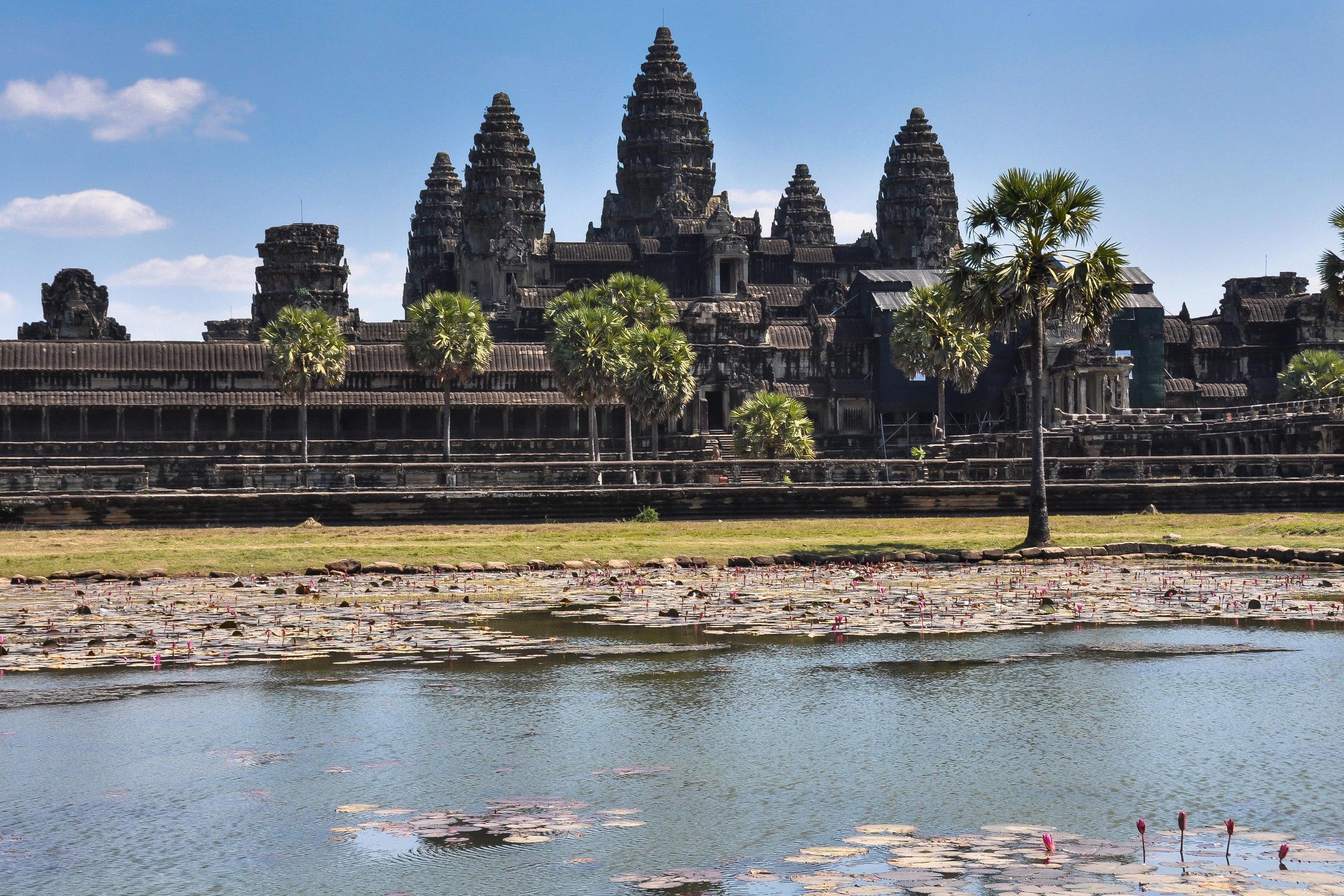The Temple City - Angkor Wat (Cambodia)