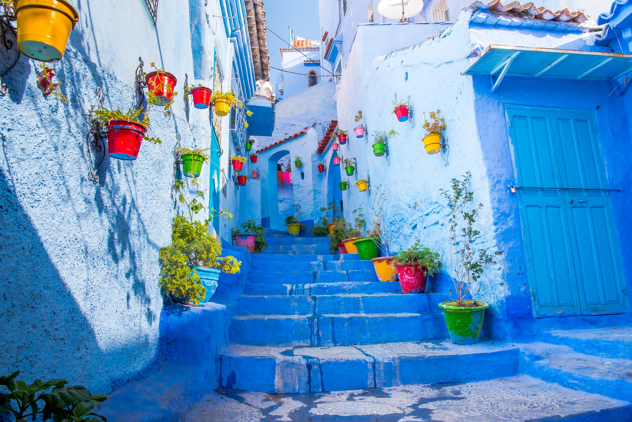 Color Burst - Chefchaouen (Morocco)