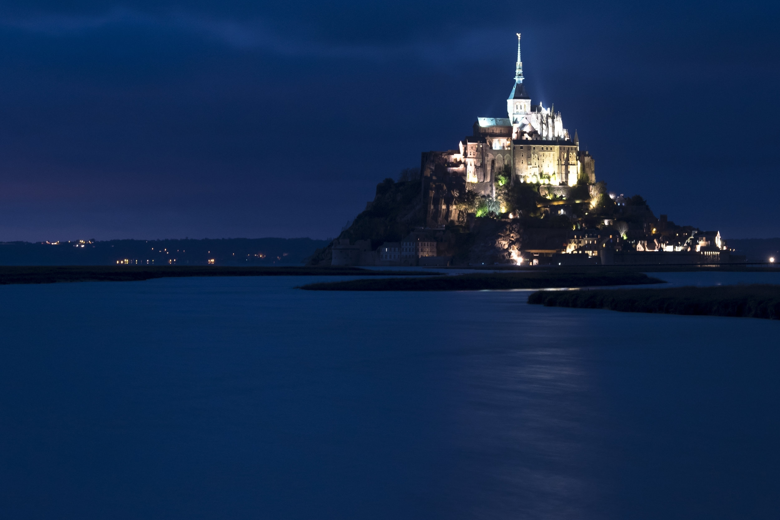 Ocean Fortress - Mont St. Michel (Normandy, France)