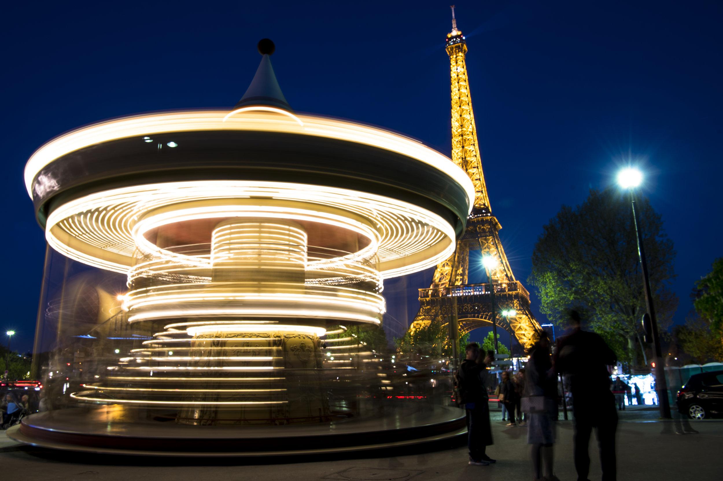 Parisian Carousel  (Paris, France)