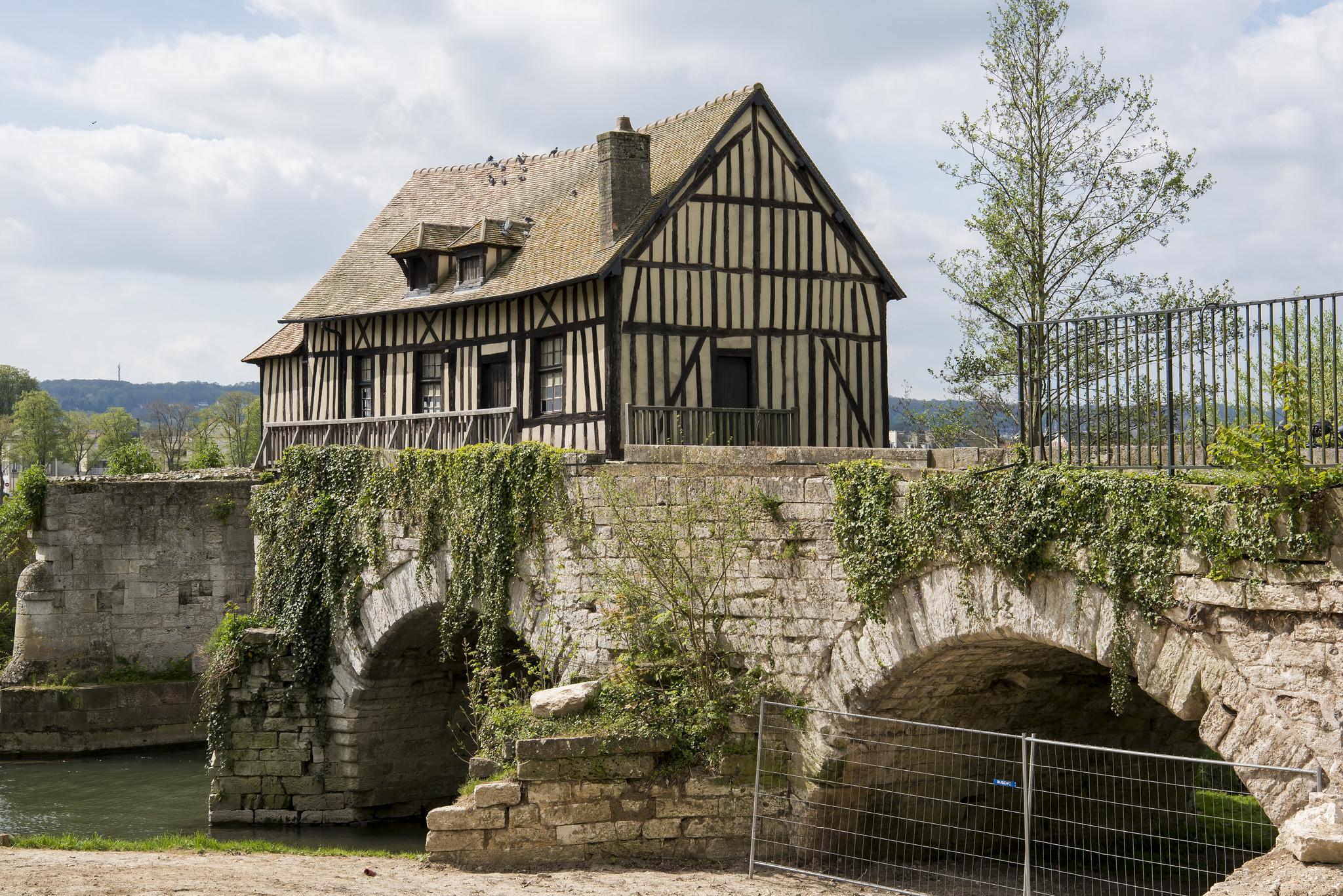House with Bridge
