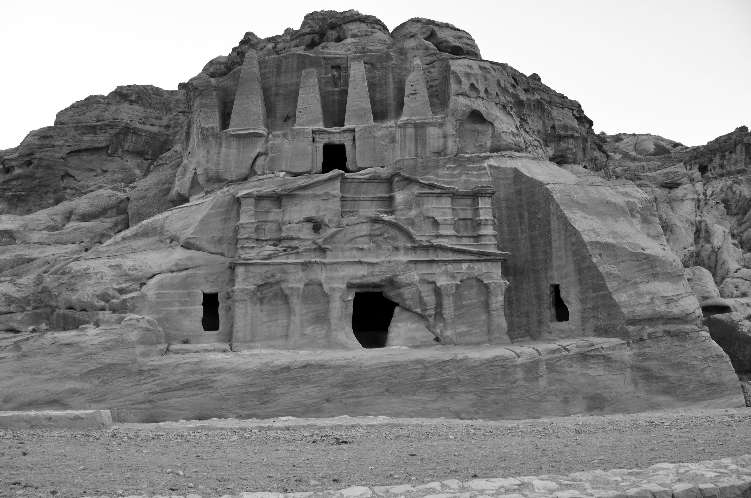 Petra - Obelisk Tomb and the Triclinium