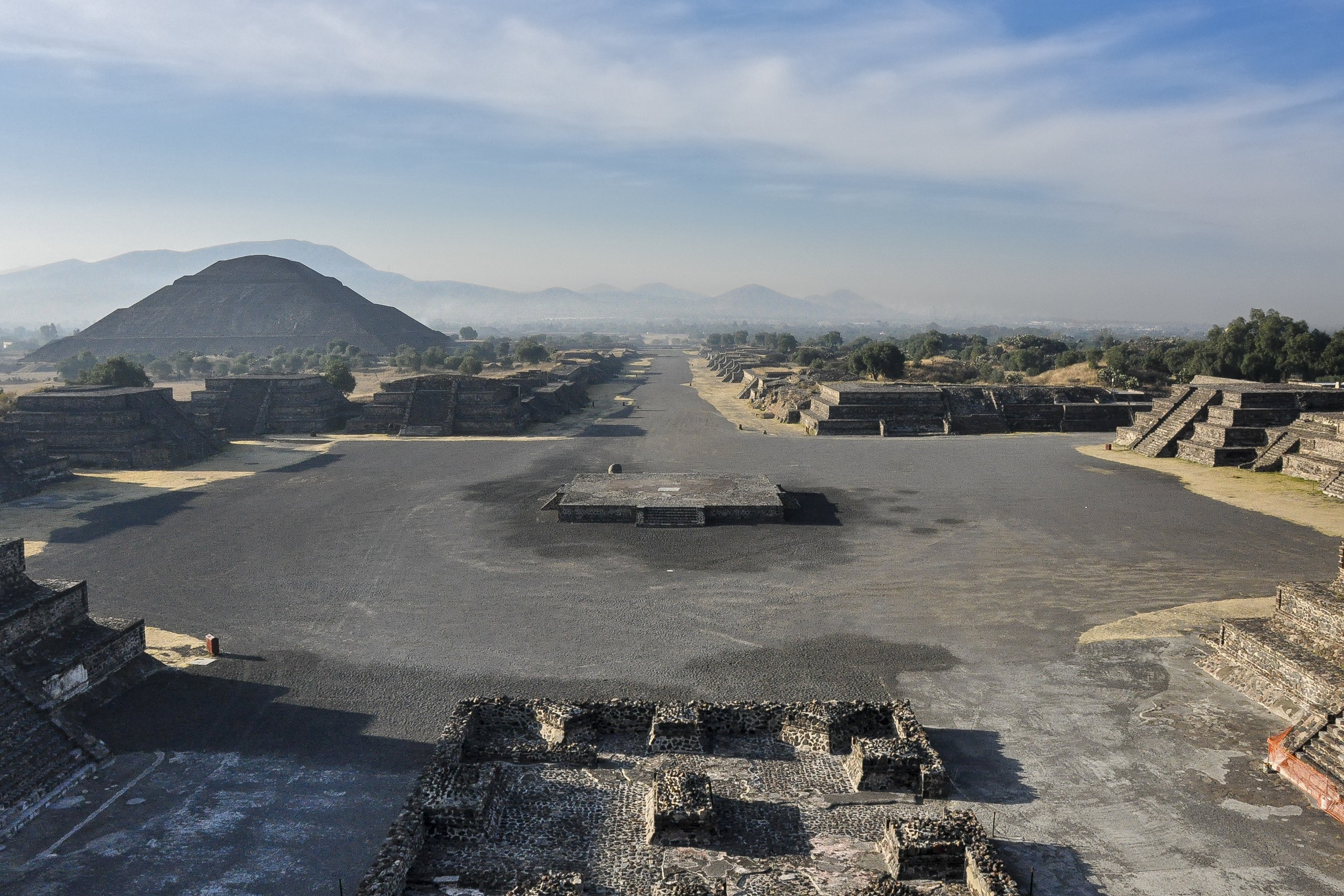 Avenue of the Dead - Teotihuacán