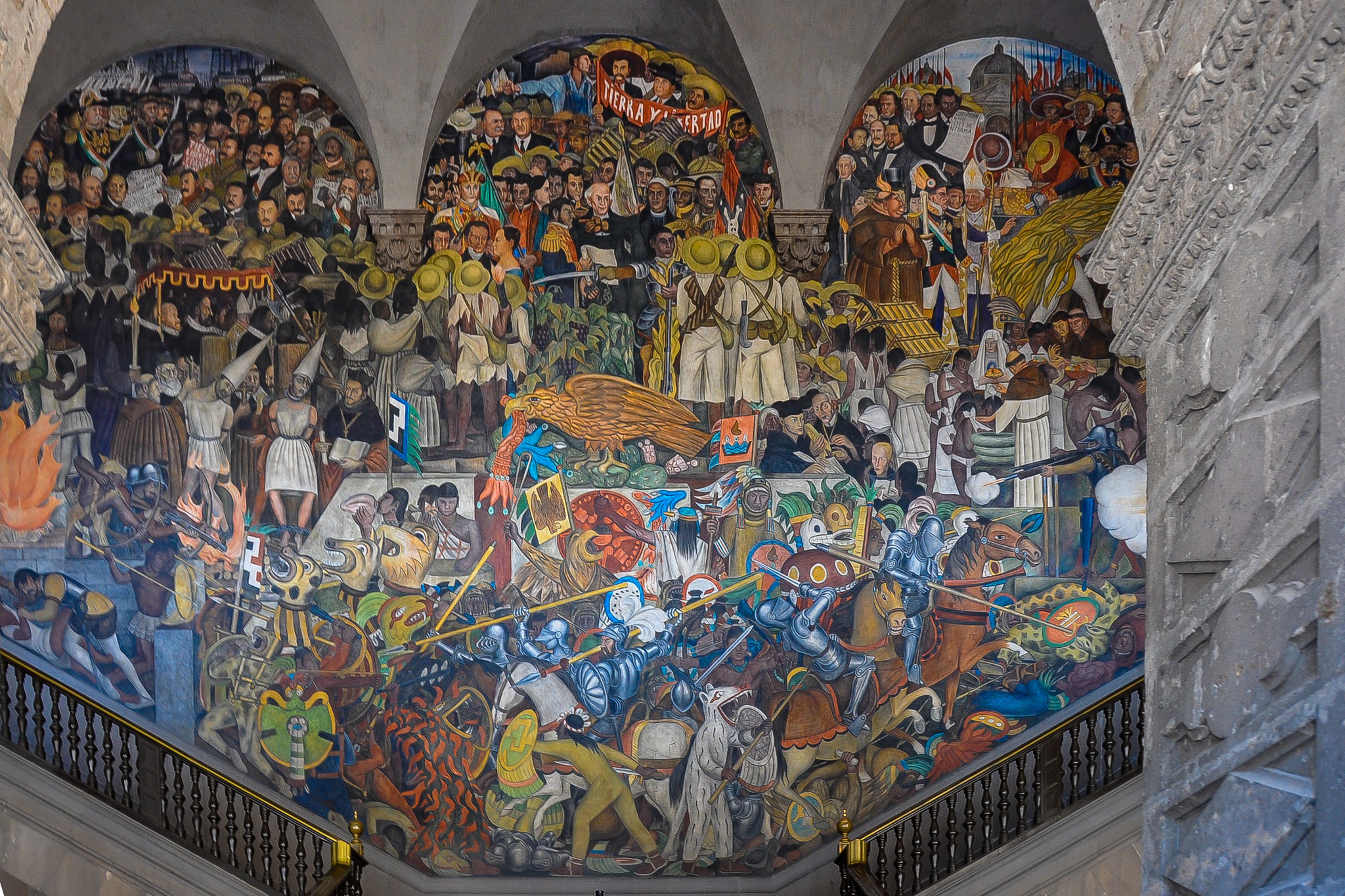 National Palace - Diego Rivera Mural