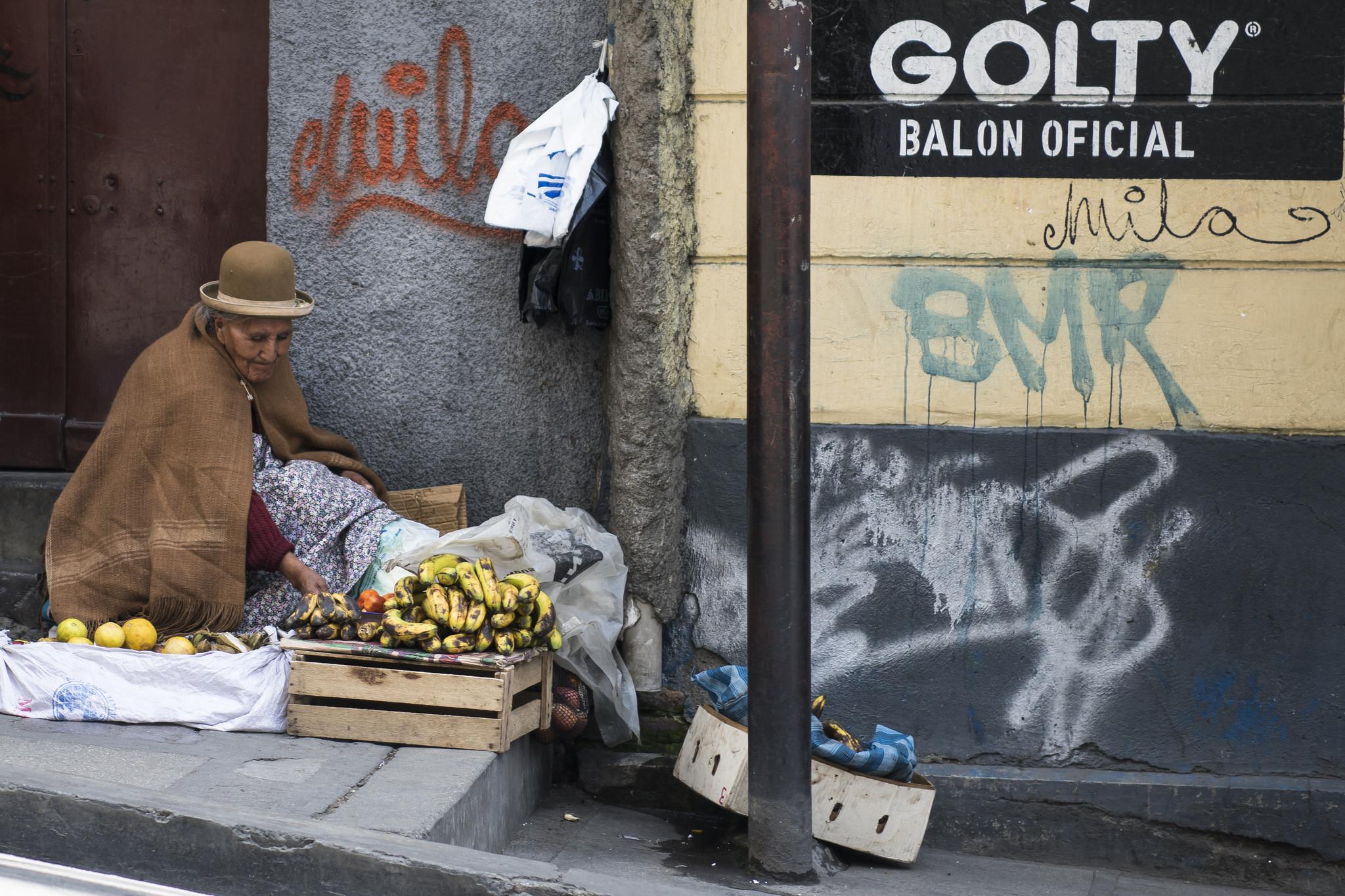 Fruit Seller - La Paz