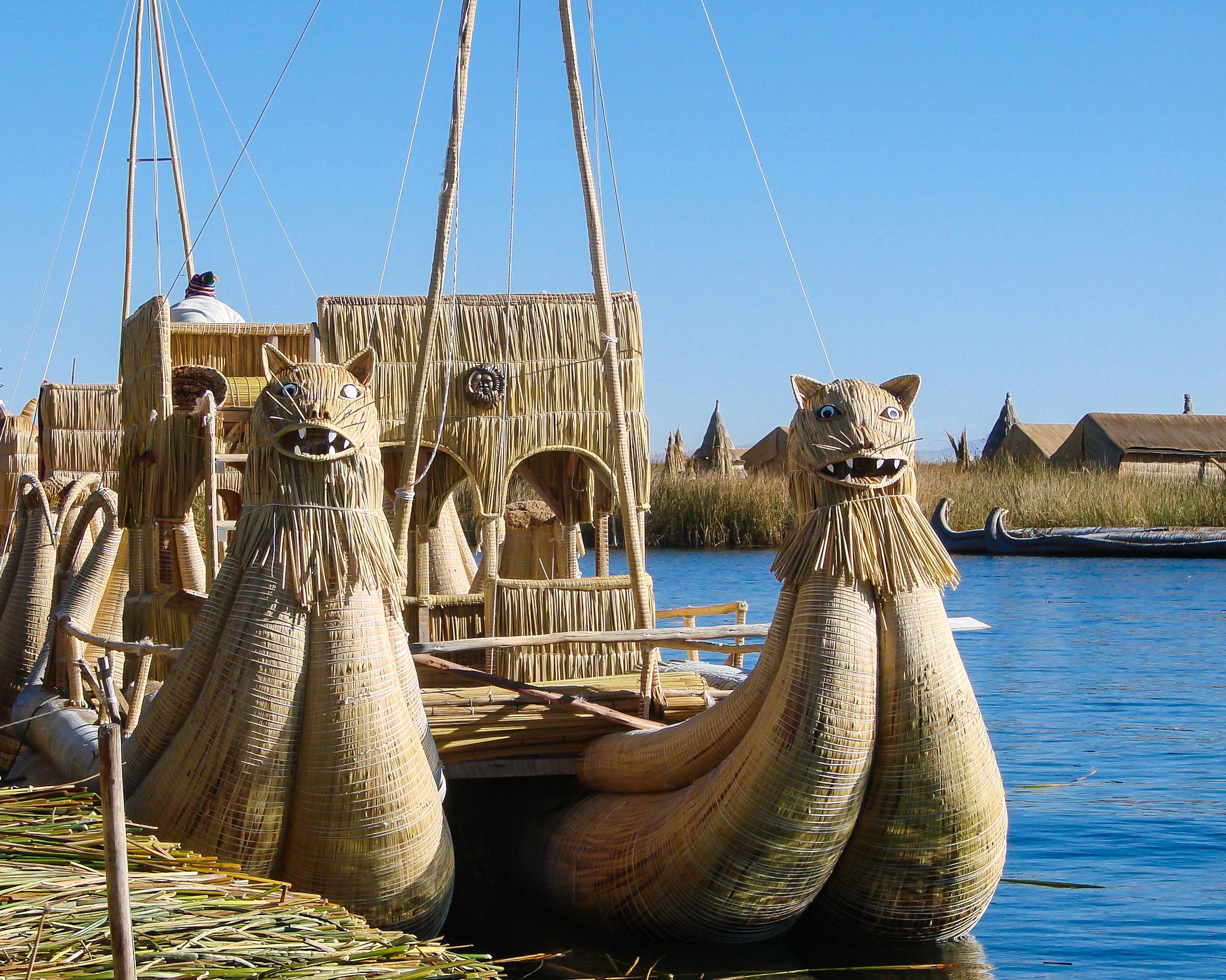 Reed Boats - Lake Titicaca