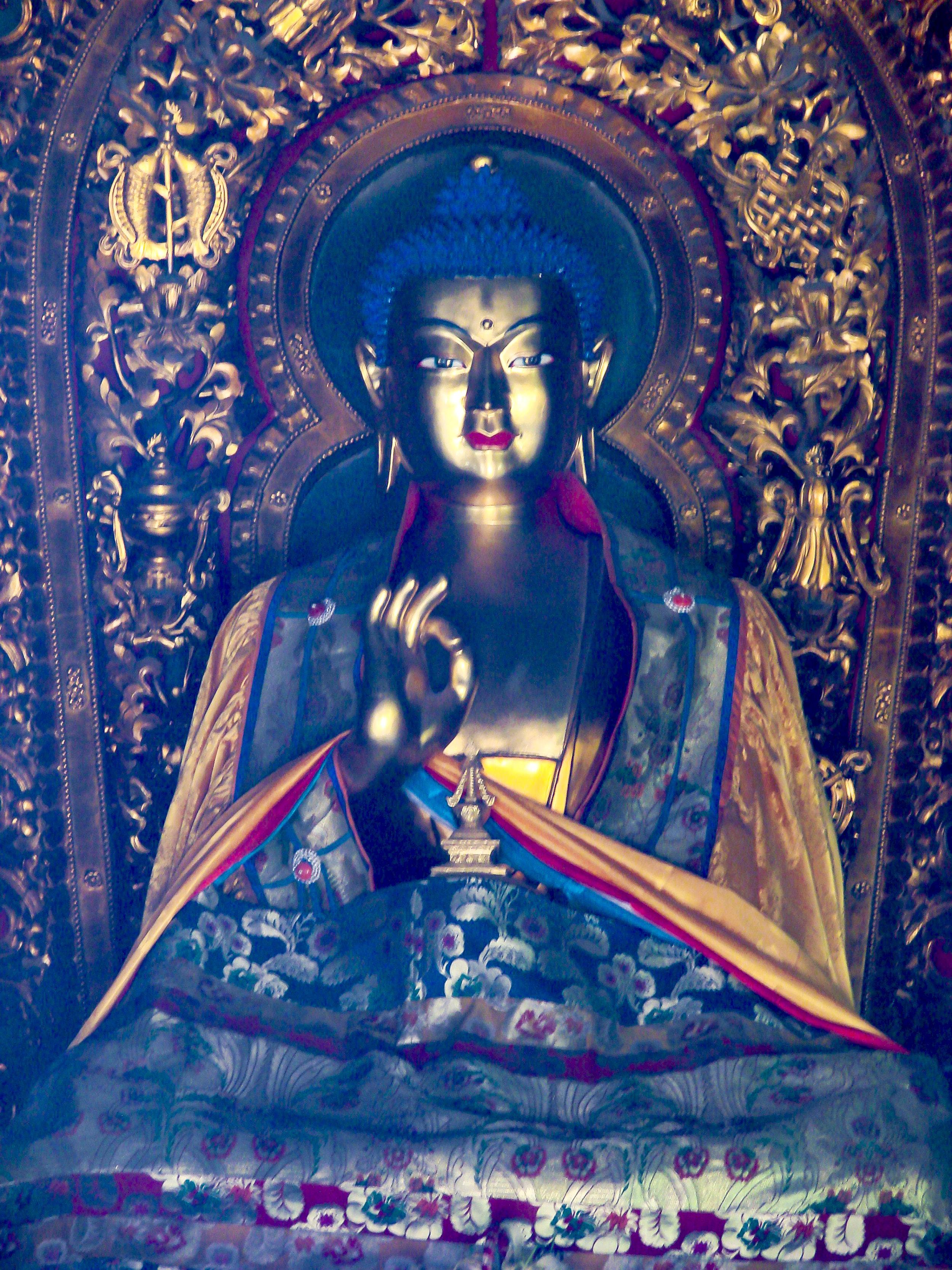 Yonghe Temple Buddha
