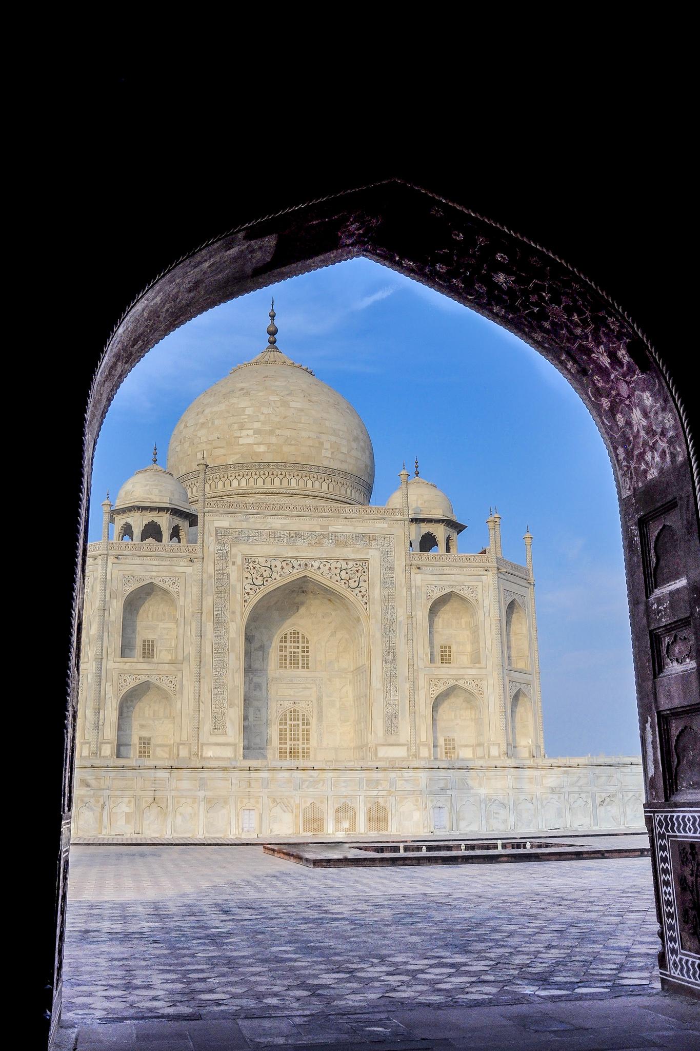 Framed Beauty - Taj Mahal