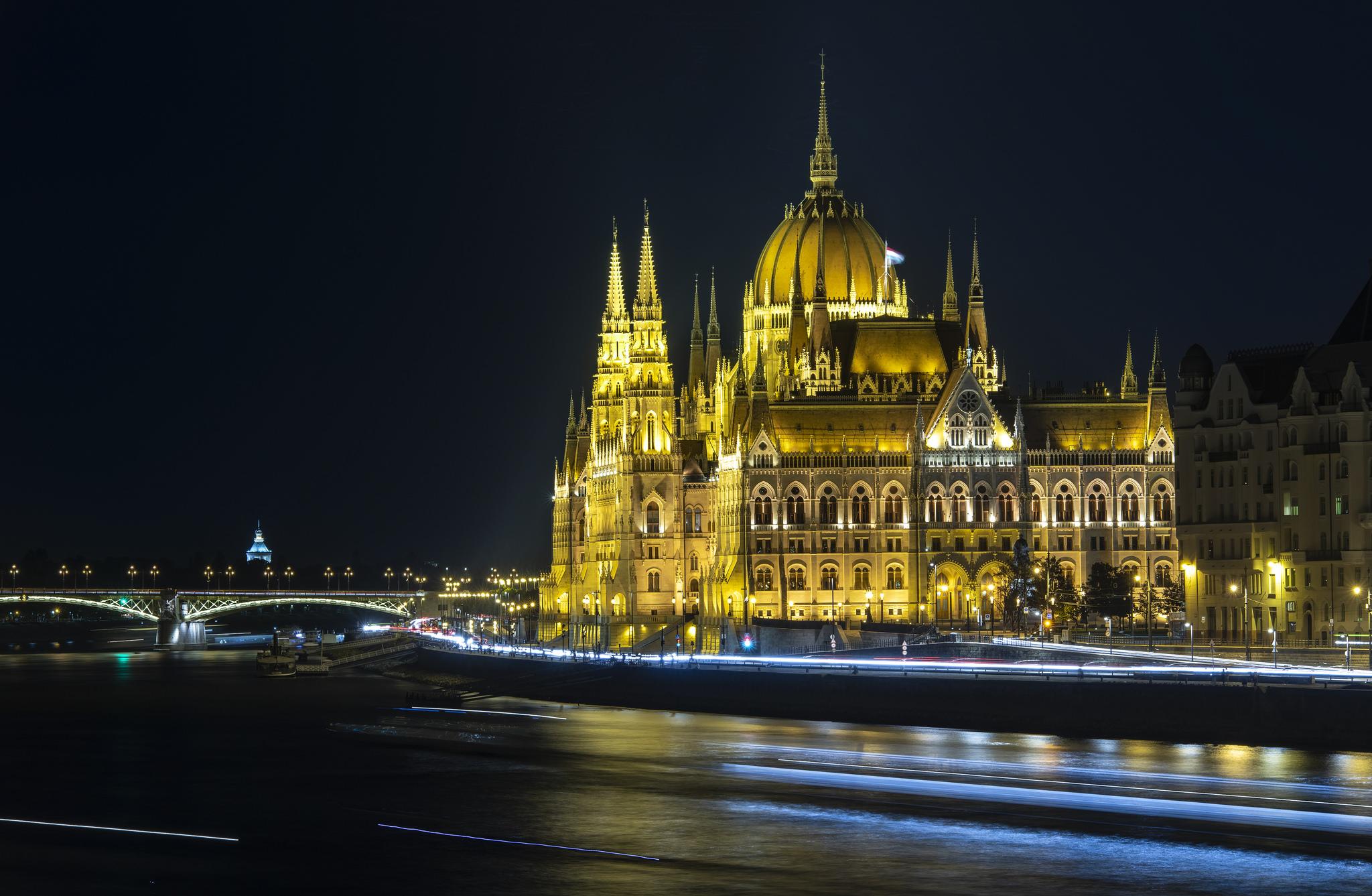 Dazzling Danube  - Hungarian Parliament (Budapest, Hungary)