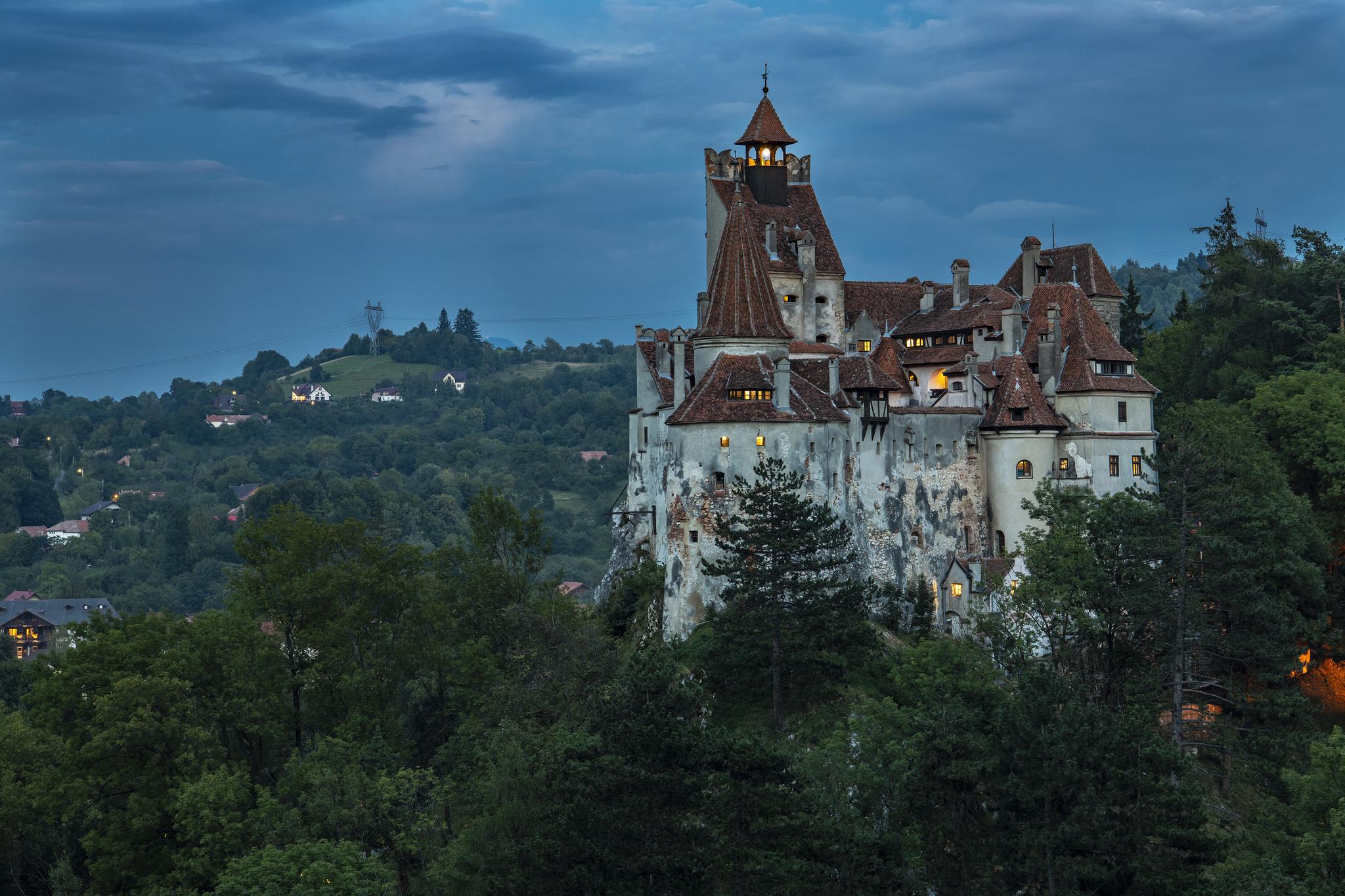 Dracula's Castle - Bran Castle (Bran, Romania)