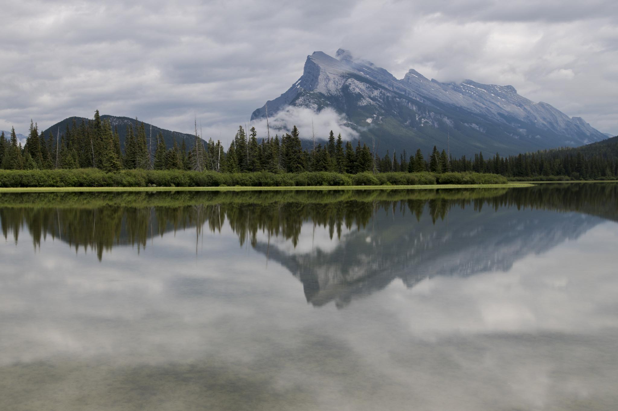 Canadian Reflections - Vermillion Lakes (Banff, Canada)