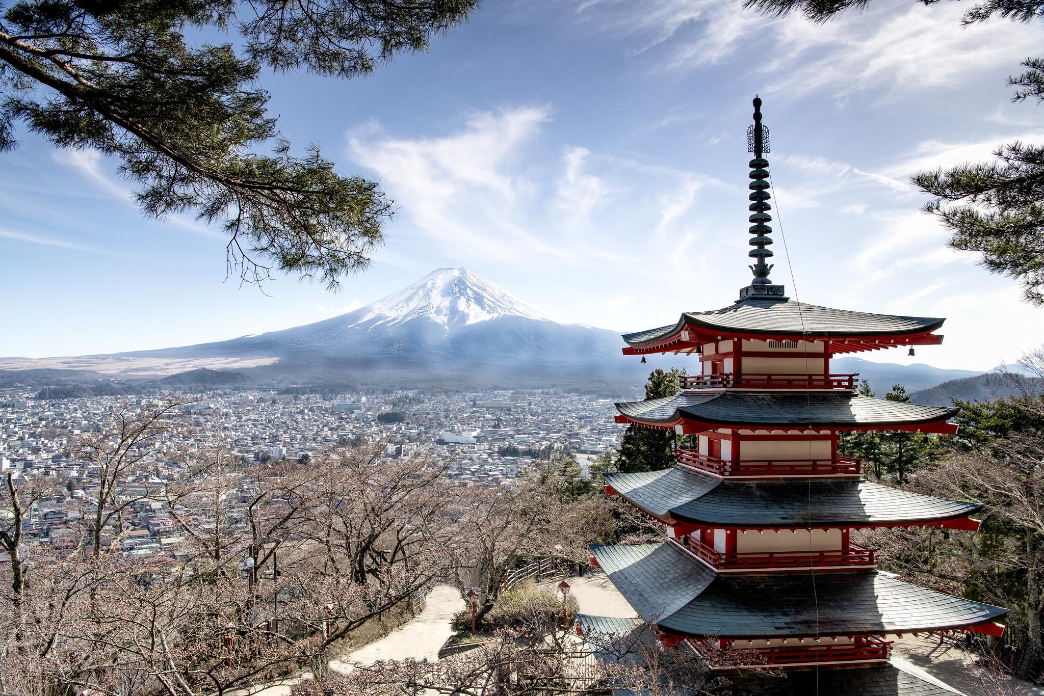 Mt Fuji & Chureito Pagoda