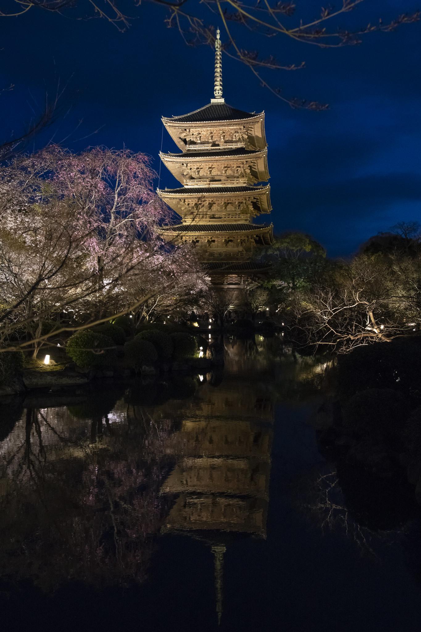 Toji Pagoda - Kyoto