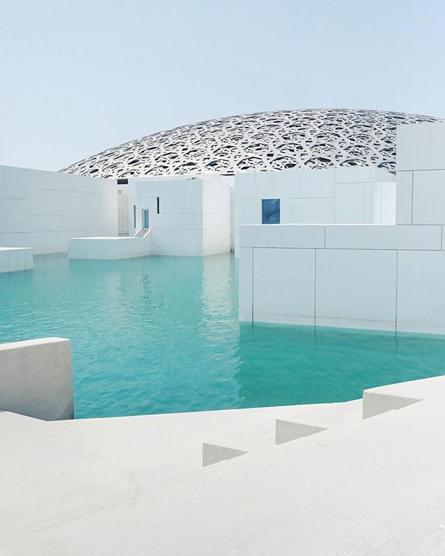 Out of this world 🔮 #louvreabudhabi