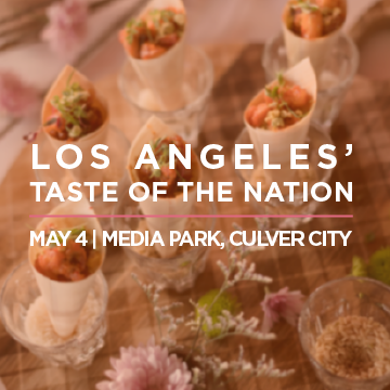 Taste of the Nation with Five Senses Tastings and Eos Chocolates