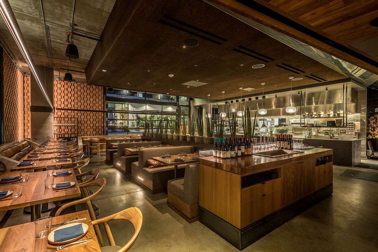 Tesse Restaurant LA Eater