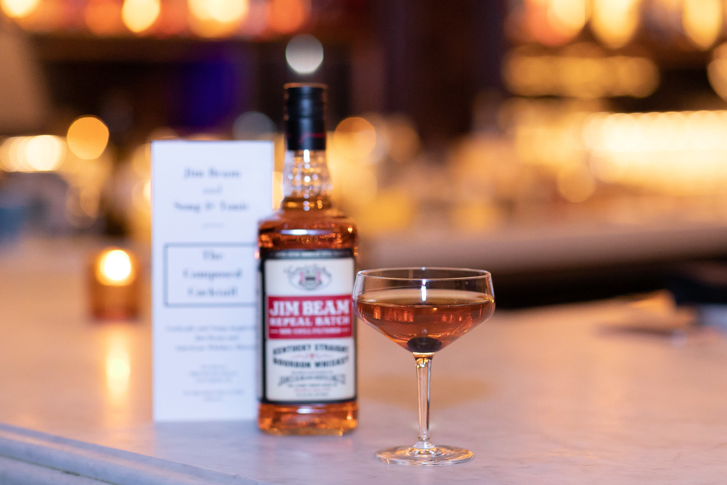 Jim Beam Repeat Batch and Song & Tonic