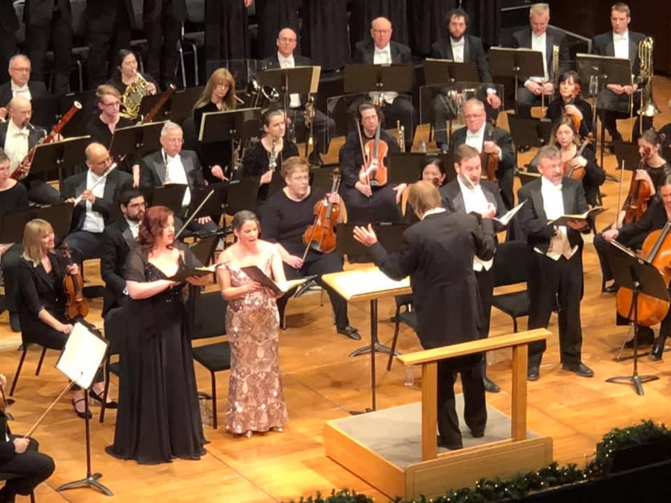 Kala Maxym sings with the Long Beach Symphony