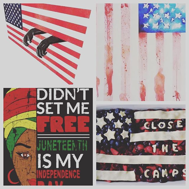 The feels of the 4th. #evokfreedom  @jjfaad @akeepler @powerinblacktees @luvvie 🙏🏾✊🏾