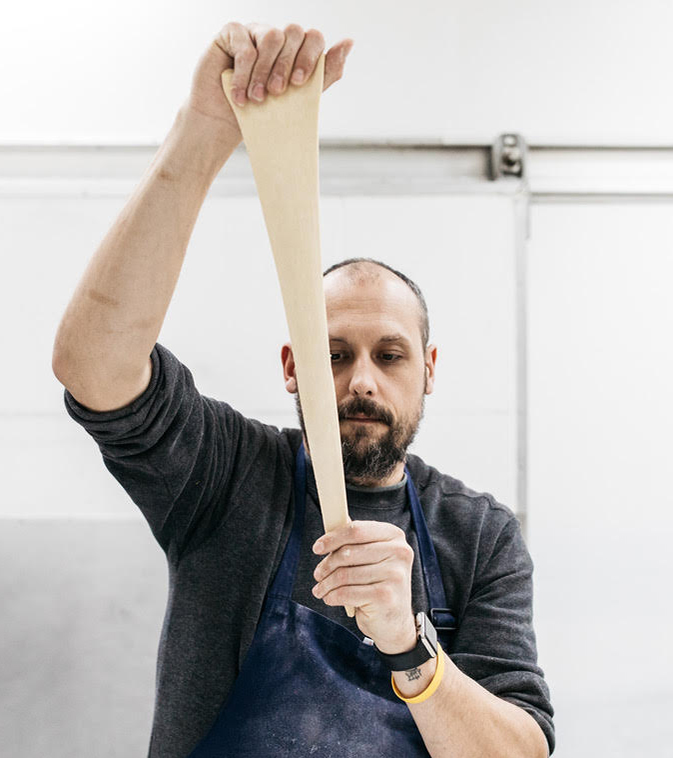 Matt Durrant, Artistic Director of the Bread Division - Dough runs in his veins with a family history of exceptional baking.