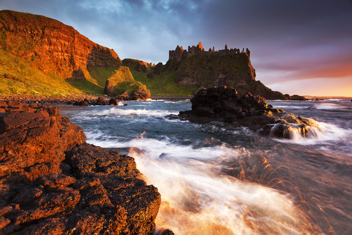 Games of Thrones Journey - 6-Night stay in Dublin, Antrim Coast and Game of Thrones locations, Belfast and historic castles, 3-course dinner at Contarf Castle, Guiness VIP tickets with rental car for 2. Bookings & concierge service.