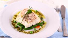 Mediterranean Style Baked Fish