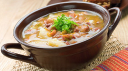 Turkey Sausage-Gnocchi Soup
