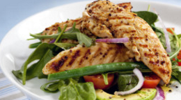 Balsamic Chicken & Bean Salad