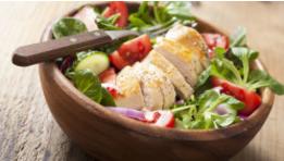Paprika Chicken & Four Bean Salad