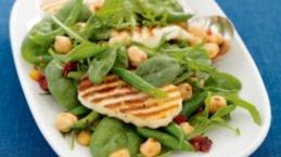 Haloumi, Rocket & Chickpea Salad